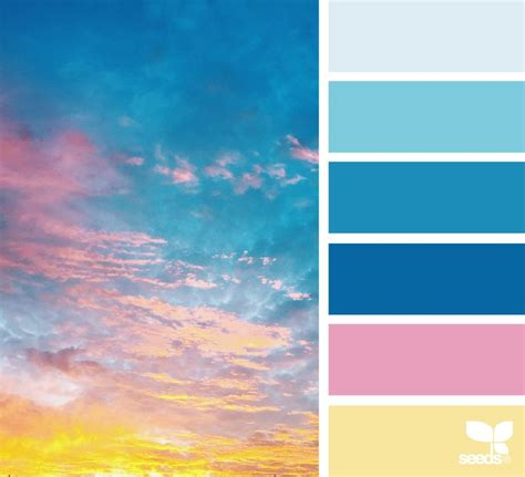 color of sky 17 best ideas about blue color schemes on blue