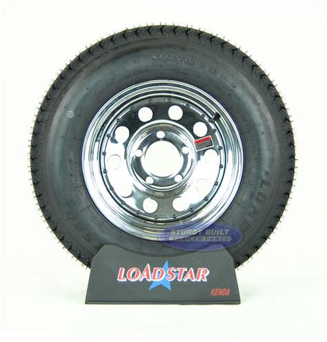 boat trailer wheel lugs st175 80d13 boat trailer tire on a chrome 5 lug wheel b78 13