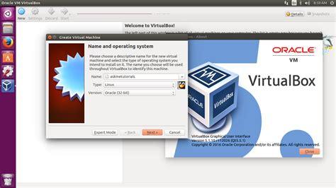installing ubuntu server on virtualbox install oracle virtualbox 5 1 10 on ubuntu 16 04