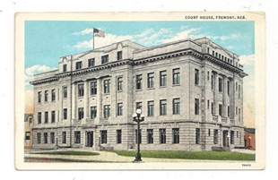 Dodge County Courthouse Court House Fremont Ne Dodge County Postcard 051413 Ebay