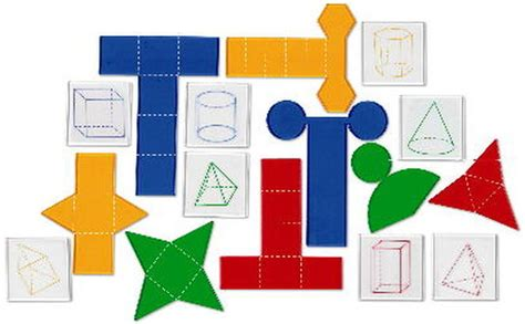 3d Shapes Paper Folding - patties classroom 3d shapes for