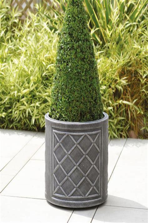 Lead Effect Planters by Stewart 32cm Pewter Lead Effect Planter Garden Garden Mall