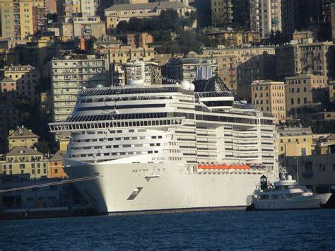 msc splendida western mediterranean cruise travel log