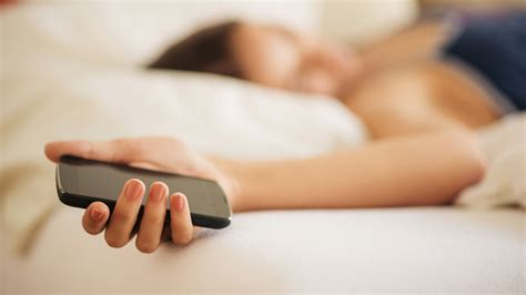 Shhh My Cellphone Is Sleeping by Nighttime Electronic Usage Increases Risk Of Sleep Disorders