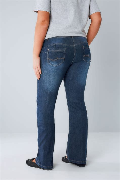 Check Balance On Indigo Gift Card - indigo bootcut shaper isla jeans with double button plus size 16 to 32
