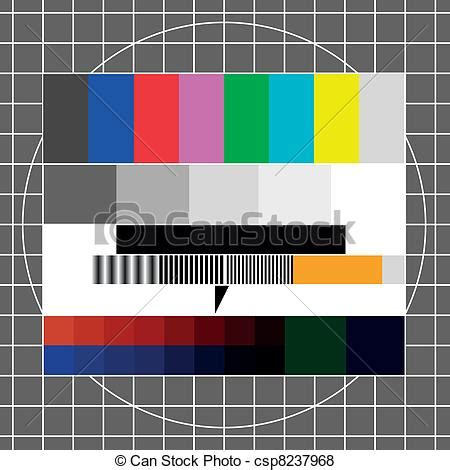 tv test pattern stock images royalty free images vector of tv test image illustration of a retro tv test