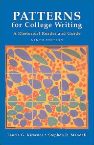 pattern of writing date patterns for college writing a rhetorical reader and