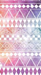 printed wallpapers pink galaxy aztec print iphone wallpapers pinterest