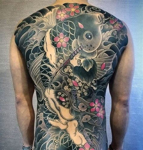 50 japanese back tattoo designs for men traditional ink
