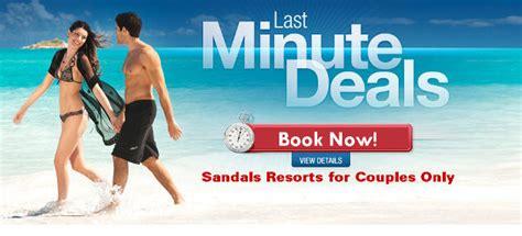 sandals last minute deals sandals sandals vacation deals discounts