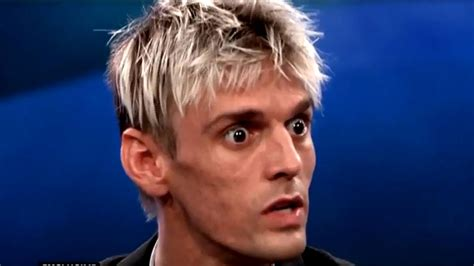 aaron carter who is aaron carter fears he could be hiv positive as he opens up