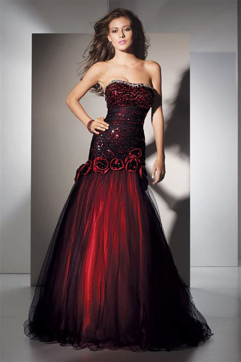 prom dresses in colors red black blue prom alyce black label 5456 alyce paris black label diane co