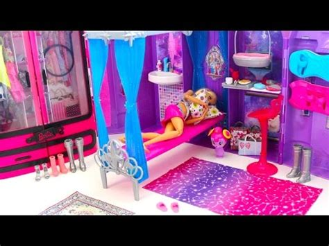 barbie doll house videos barbie bedroom morning routine barbie doll house beliche para barbie quarto غرفة