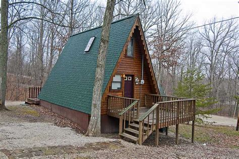 build an a frame cabin three patoka 4 seasons resort