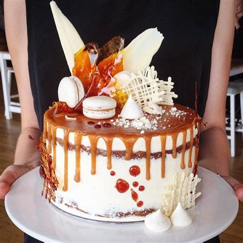 Caramel Decoration by Caramel Mud Cake With Salted Caramel Smbc And All The
