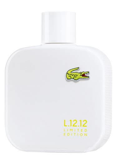 Lacoste Makes A Colette Limited Edition by Eau De Lacoste L 12 12 Blanc Limited Edition Lacoste