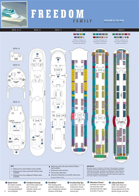 liberty of the seas floor plan deck plans freedom of the seas deck design and ideas