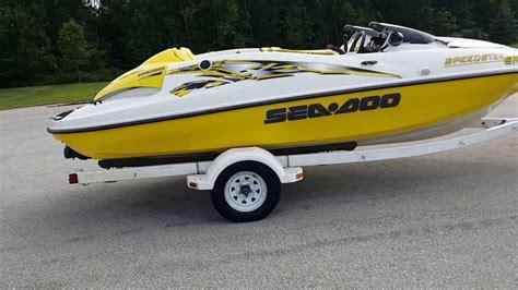 sea doo jet boat repair 1999 sea doo speedster sk ebay no reserve auction youtube