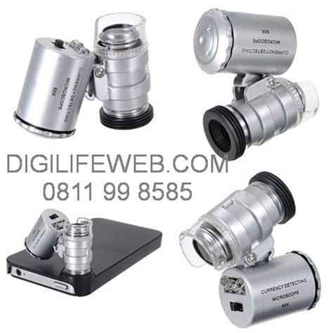 Microscope Mini Dengan Lu Led loupe 60x microscope with led