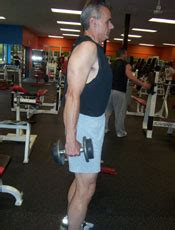 dumbbell shrug shoulder exercises