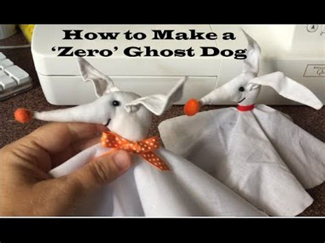 halloween craft tutorial how to make zero from the