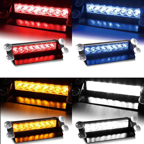 green light auto group car vechicle led emergency strobe flash warning light 12v