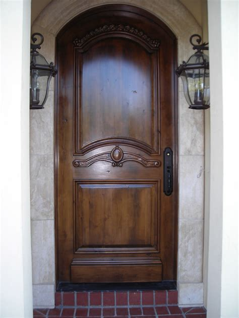 Custom Exterior Wood Doors Custom Wood Entry Door Entry Doors Pinterest