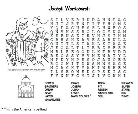 Many Find Joseph And Pharaoh Word Search Pictures To Pin On