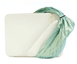Lloyd Laptop Bag From Violet May by Laptop Bags Lloyd Peppermint White Fashion