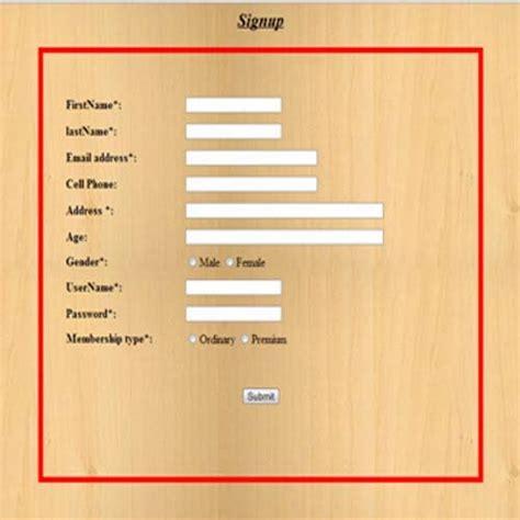 php code for validation of registration form php registration form validation code with mysql database