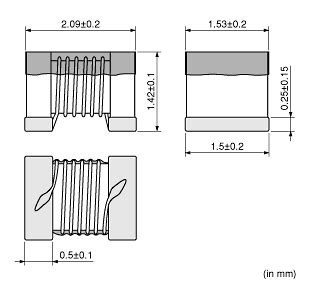 murata high q inductor murata introduces high q type 0805 size 2 0 215 1 5mm winding type inductor lqw2ban 00 series