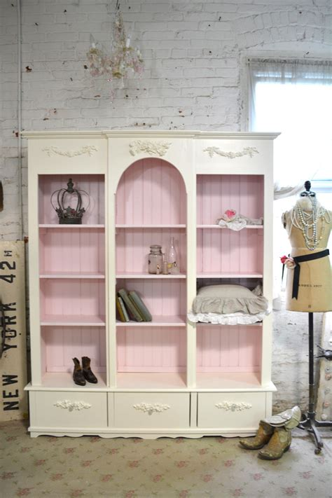 painted cottage bookcase