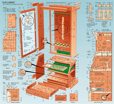 build  display cabinet  firearms   gun rack