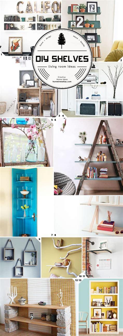 Cheap Living Room Shelves 17 Best Ideas About Cheap Shelves On Wood