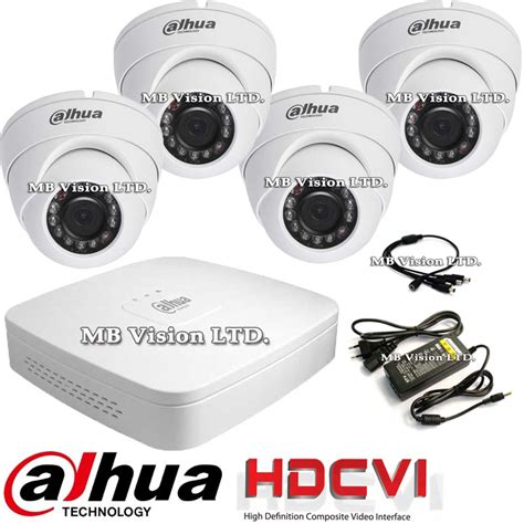 Promo Paket Cctv Hikvision 4 Hdd 1tb Hd 2mp Komplit dvr kit with 4 hd dome security cameras dahua hd cvi from category dvr kits cctv kits hd cvi
