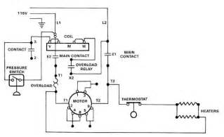 electric motor controls wiring diagram electrical electronics concepts