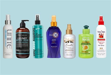 7 Fab Leave In Conditioners by 7 Best Leave In Conditioners For Each Hair Type 2018 Update