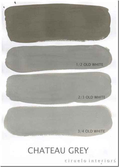 chalk paint chateau grey chateau grey og white for the home
