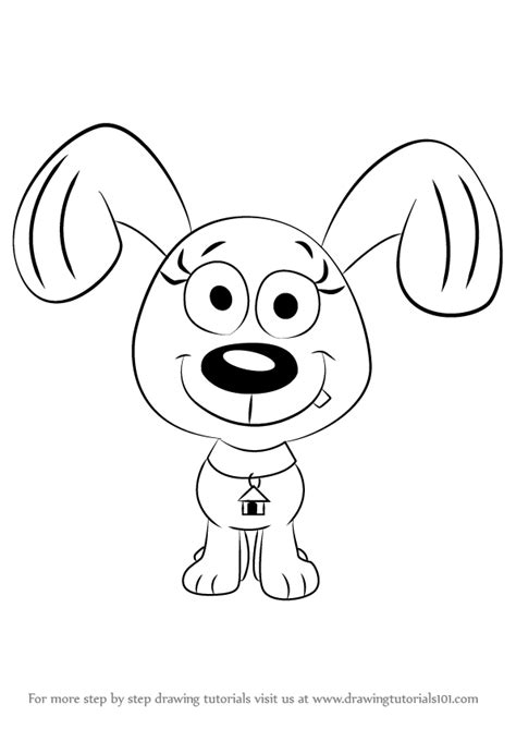 drawing puppies learn how to draw rebound from pound puppies pound puppies step by step drawing