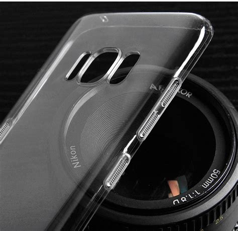Samsung Galaxy S8 Pc Clear Transparant 1 ultra thin clear transparent pc back cover for
