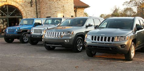 jeep lineup 2007 jeep lineup images