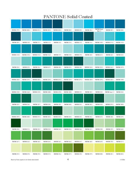 color coated pantone solid coated chart free