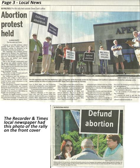 The Recorder And Times Notices Synopsis Of Fall 2013 National Defund Caign