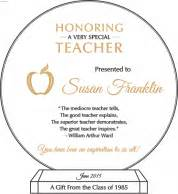 teacher appreciation wording ideas and sample layouts