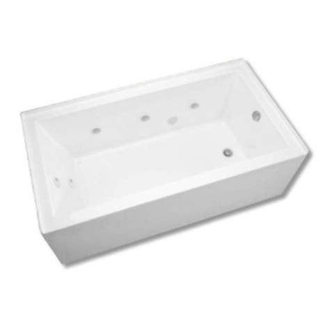 mirabelle bathtubs mireda6030rwh edenton 60 x 32 air tub white at