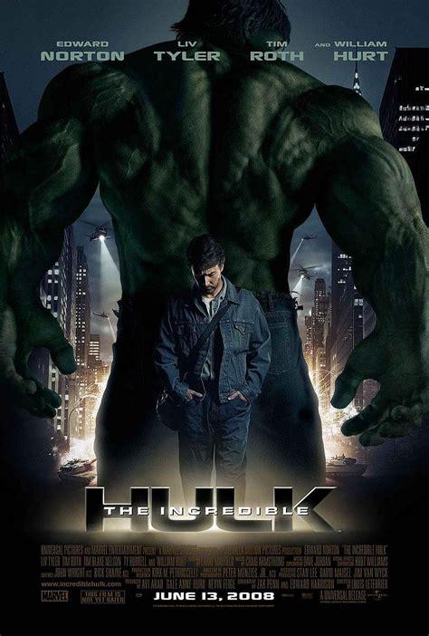 film marvel fase 1 universo cinematogr 225 fico marvel fase 1 incr 237 vel hulk
