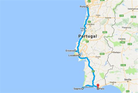distance porto lisbon porto to faro by car a portugal coast road trip the