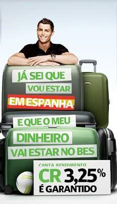 cristiano ronaldo banco espirito santo vamos a publicidad 187 caj 243 n de sastre