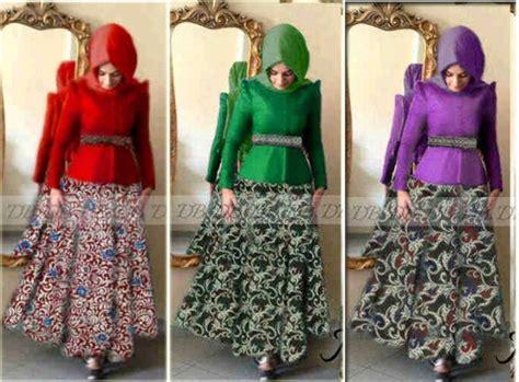 Baju Mirra Dres gaun batik modern mira p873 busui jual gamis batik