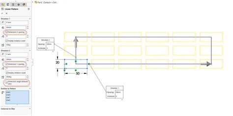 solidworks linear sketch pattern y axis why is my solidworks sketch pattern under defined